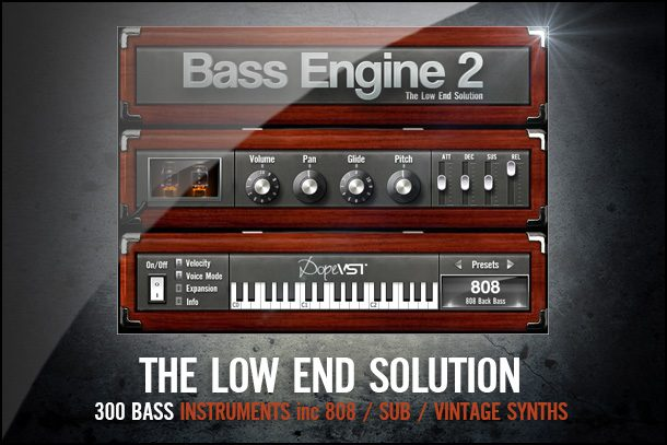 Hip Hop 808 Bass Plugin Plug-In