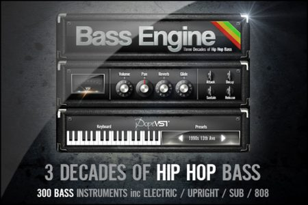 Hip Hop Bass - Bass Synth - Bass Plug-In - Real Bass - 808
