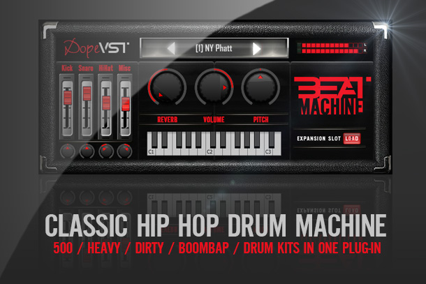 BEAT MACHINE – Hip Hop // Drums