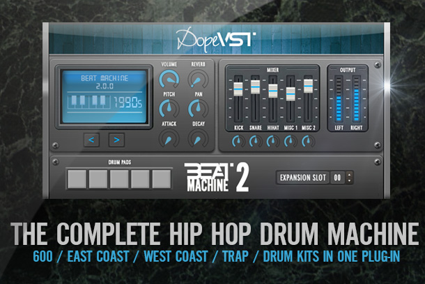 BEAT MACHINE 2 – Hip Hop / Drums