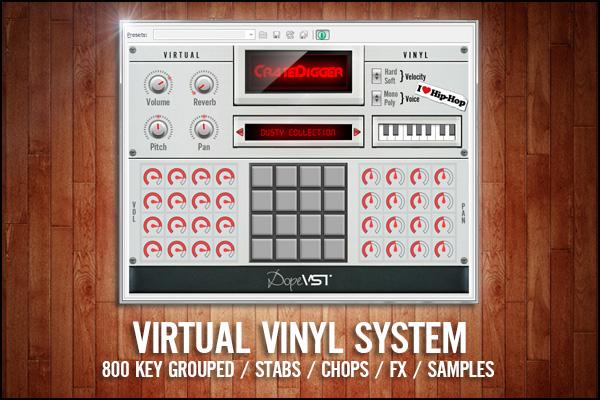 Digging The Crates - Second Hand Vinyl - Sample Cuts - Vinyl Chops - VST - AU