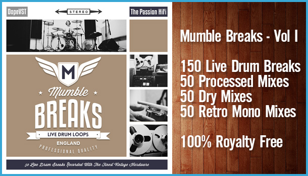 Mumble Breaks Drum Loops