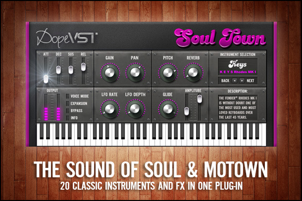 Soul Rnb Funk Motown VST Plugin