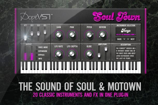 SOUL TOWN – Keys / Bass / Strings / Horns